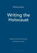 Writing the Holocaust