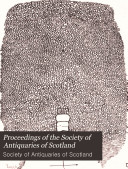 Pdf Proceedings of the Society of Antiquaries of Scotland