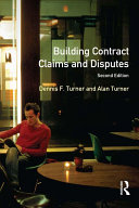 Building Contract Claims and Disputes