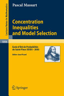 Concentration Inequalities and Model Selection