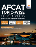 AFCAT Topic-wise Solved Papers (2011 - 19) with 5 Practice Sets 5th Edition Pdf/ePub eBook