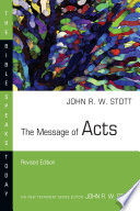 The Message of Acts Book PDF