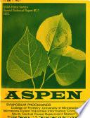 Aspen: Symposium Proceedings