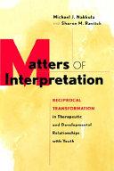 Matters of Interpretation