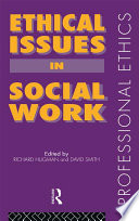 Ethical Issues in Social Work Book