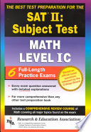 The Best Test Preparation for the SAT II  Subject Test