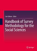 Handbook of Survey Methodology for the Social Sciences