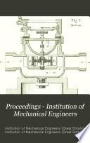 Proceedings Institution Of Mechanical Engineers