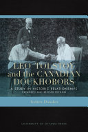 Pdf Leo Tolstoy and the Canadian Doukhobors Telecharger