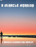 Pdf A Miracle Morning A Weekly Planner for 2020/21
