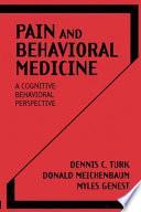 Pain and Behavioral Medicine