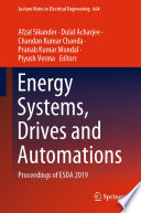 Energy Systems  Drives and Automations