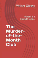 The Murder of the month Club Book PDF