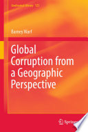 Global Corruption from a Geographic Perspective