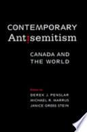 Contemporary Antisemitism