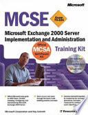 MCSE Training Kit (Exam 70-224)