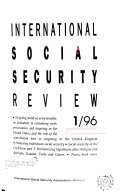 International Social Security Review