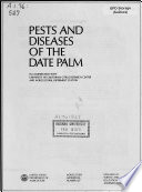 Pests And Diseases Of The Date Palm