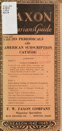Indexed Periodicals