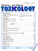 Veterinary and Human Toxicology  , Band 31