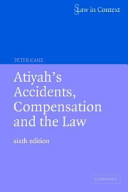 Cover of Atiyah's Accidents, Compensation and the Law