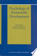 Psychology of Sustainable Development Book