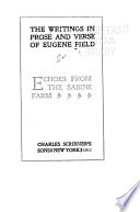 Echoes from The Sabine farm : [translations from Horace