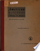 American Business Directories
