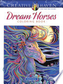 Creative Haven Dream Horses Coloring Book