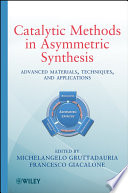Catalytic Methods in Asymmetric Synthesis Book