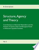 Structure  Agency and Theory