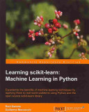 Learning Scikit Learn Book PDF