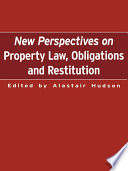 New Perspectives on Property Law