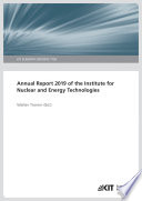 Annual Report 2019 of the Institute for Nuclear and Energy Technologies