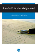 La Relació jurídica obligacional
