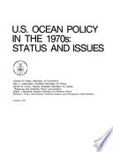 U S  Ocean Policy in the 1970s
