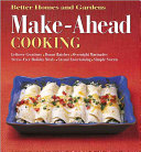 Make ahead Cooking Book PDF