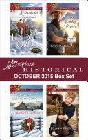 Love Inspired Historical October 2015 Box Set