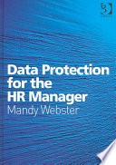 Data Protection For The Hr Manager Book PDF