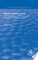 Revival  Music and Its Lovers  1932