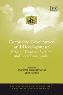 Corporate Governance and Development