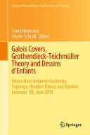 Pdf Galois Covers, Grothendieck-Teichmüller Theory and Dessins d'Enfants Telecharger