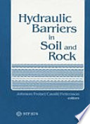 Hydraulic Barriers In Soil And Rock