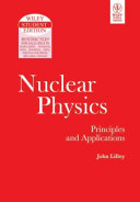 NUCLEAR PHYSICS  PRINCIPLES AND APPLICATIONS Book