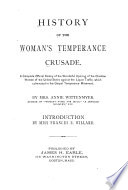 History Of The Woman S Temperance Crusade