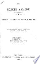 The Eclectic Magazine of Foreign Literature, Science, and Art Pdf/ePub eBook