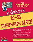 Barron's E-Z Business Mathematics