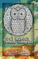 Pdf Owl Mandala Illustrations Coloring Book