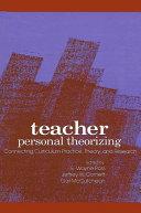 Pdf Teacher Personal Theorizing Telecharger