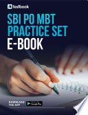SBI PO MBT Practice Set 2021: Download Latest Guide in PDF Here!